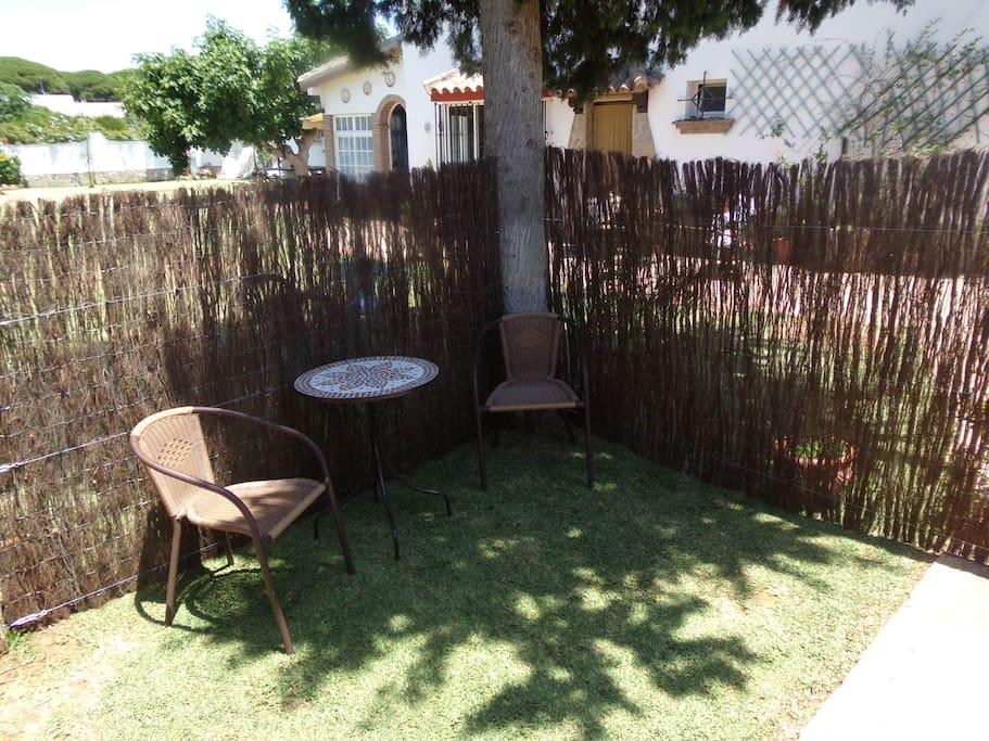 Pequeño jardin privado