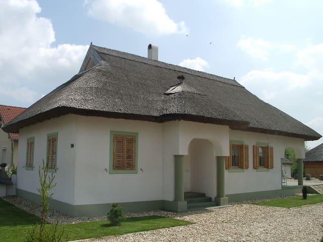 Hangulatos nádfedeles ház Csényén