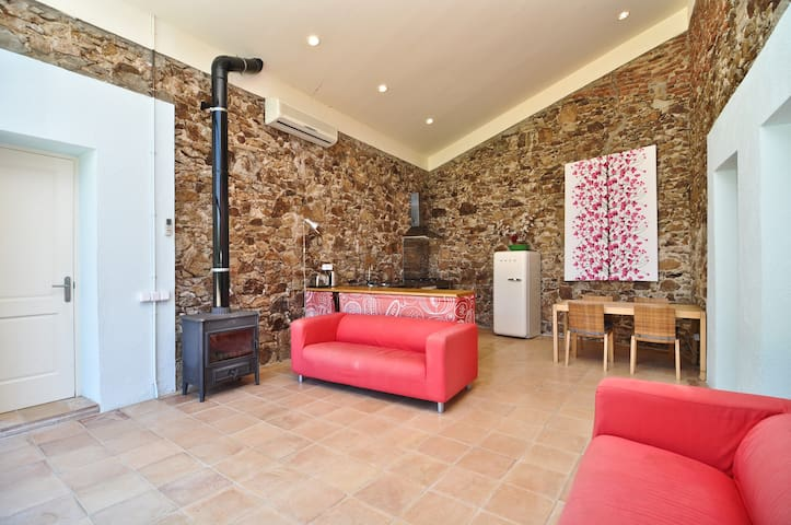 Rural 18th Century Barn Conversion - Caldes de Malavella - House