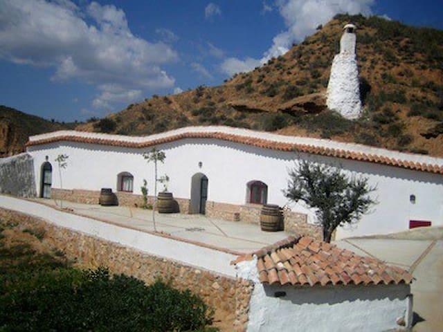 Casa Cueva Olivo - Cortes y Graena - Casa