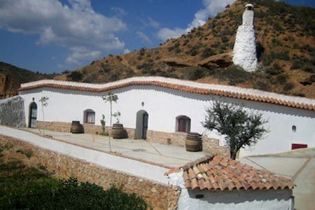 Casa Cueva Olivo - Cortes y Graena