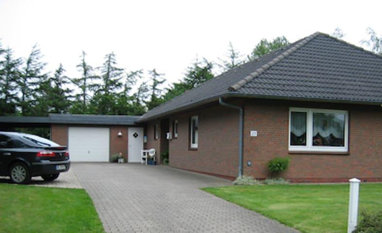 Ferienwohnung Nissen - Breklum - Apartament