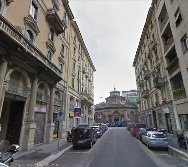 The house is here - via Lecco