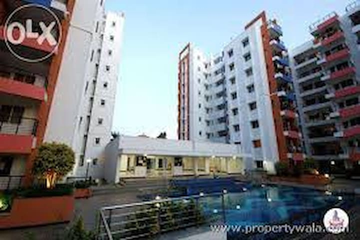 Room in an apartment with a view - Bangalore - Apartamento