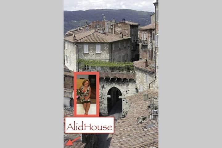Alidhouse Rooms in Perugia City!