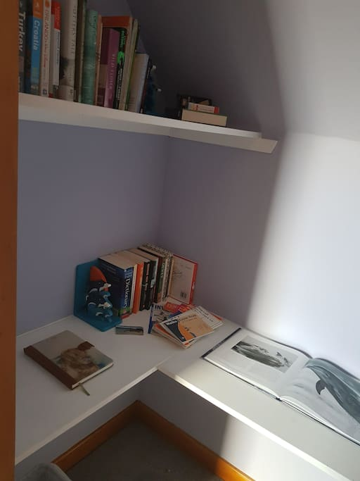 Local interest books in room