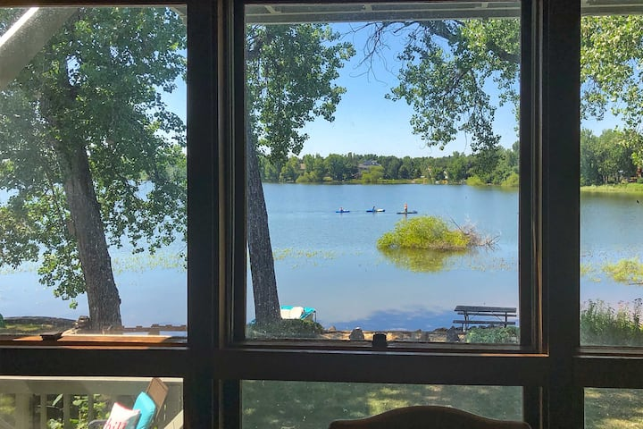 NEW! Lakefront Fort Collins Townhome ~3 Mi to CSU!