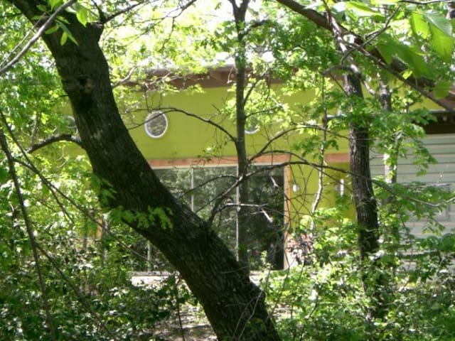 Modern wooded hideaway near White Rock Lake - Dallas - Casa
