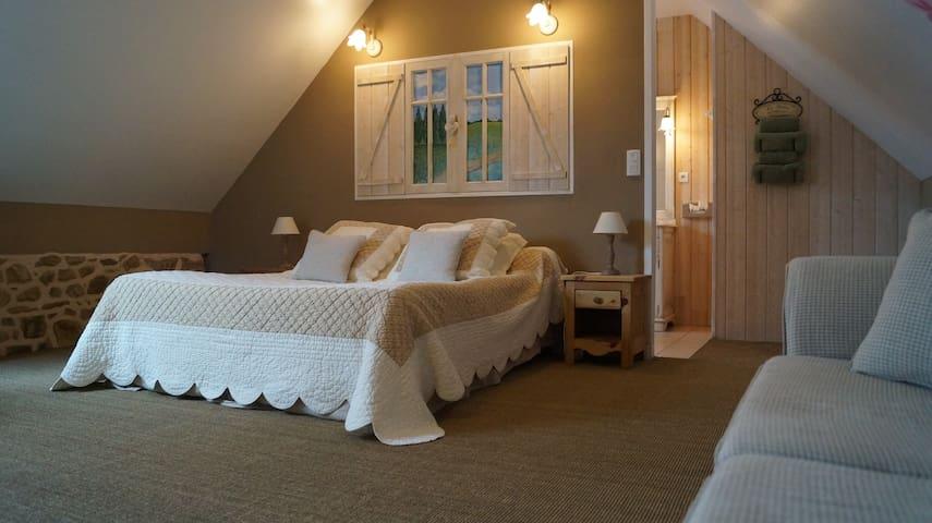 """A l'orée du bois chambre""""champêtre"""" - Pommerit-le-Vicomte - Bed & Breakfast"""