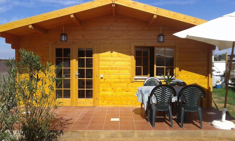Estudio espaciosos, jardin privado - El Palmar - Huis