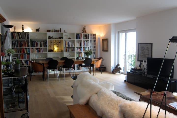 central located*beautiful furnished - Basle - Daire