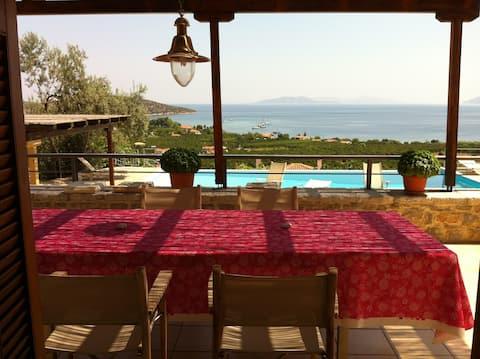 Villa, breathtaking view, pool