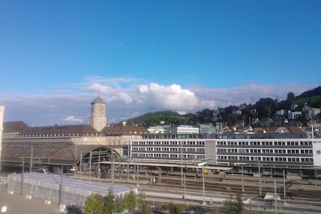 Room 2 min. from the train station - St. Gallen - Apartemen