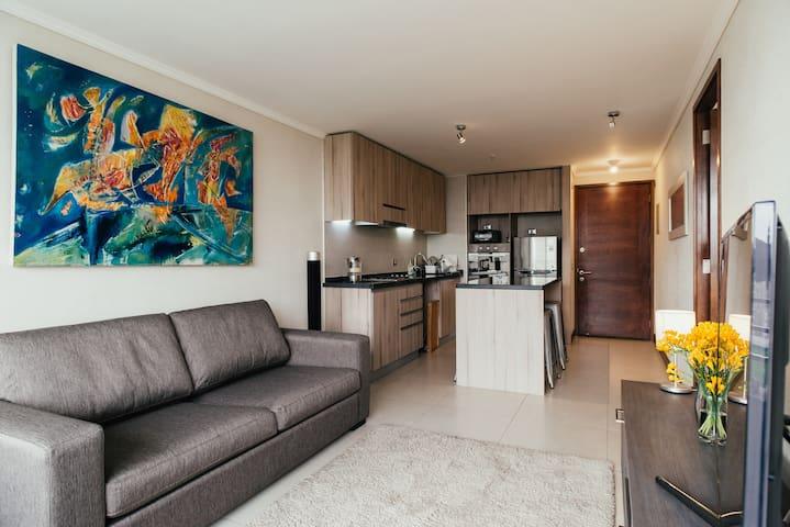 Beautiful Apartment in Ñuñoa's heart! *