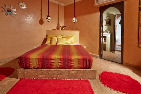 Charm Villa Vanille Soleil Room - Marrakesh - Bed & Breakfast