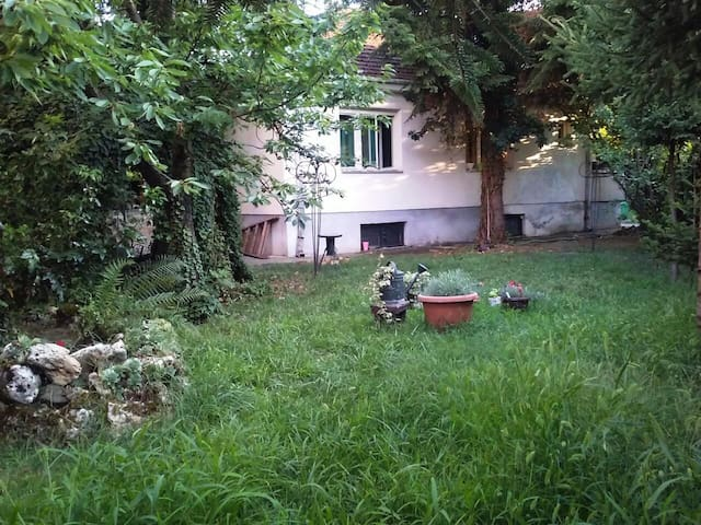 Charming garden, vintage house - Skopje - Bed & Breakfast