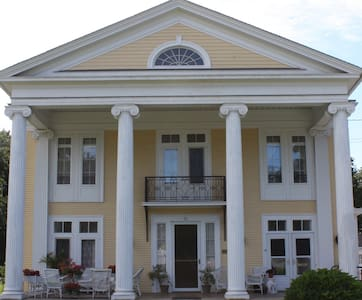 Historic Greek Revival on Main St. - Port Jervis - Ev