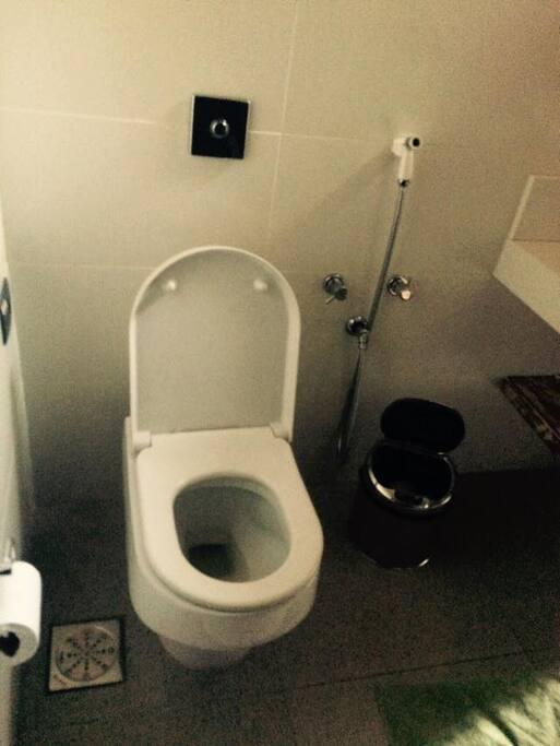 Banheiro Privado, exclusivo para os hóspedes