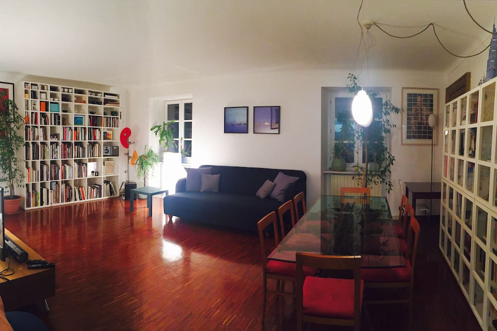 Panoramica salotto - Living room