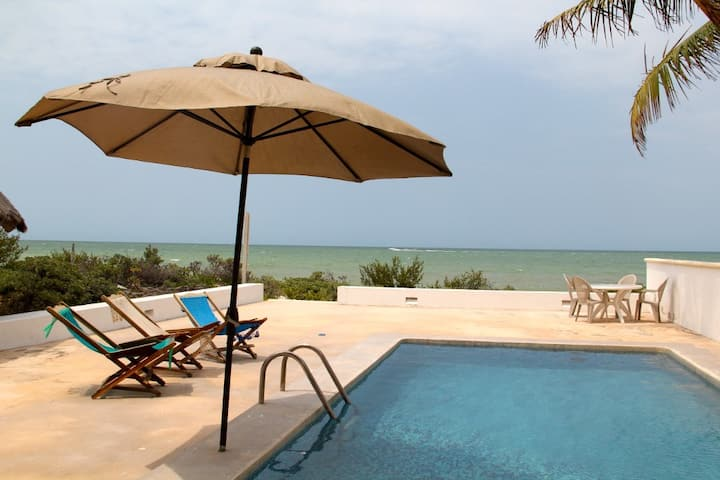 Ha-Uay private beach getaway w/pool
