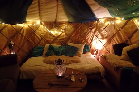 Magical Yurt in Urban Garden