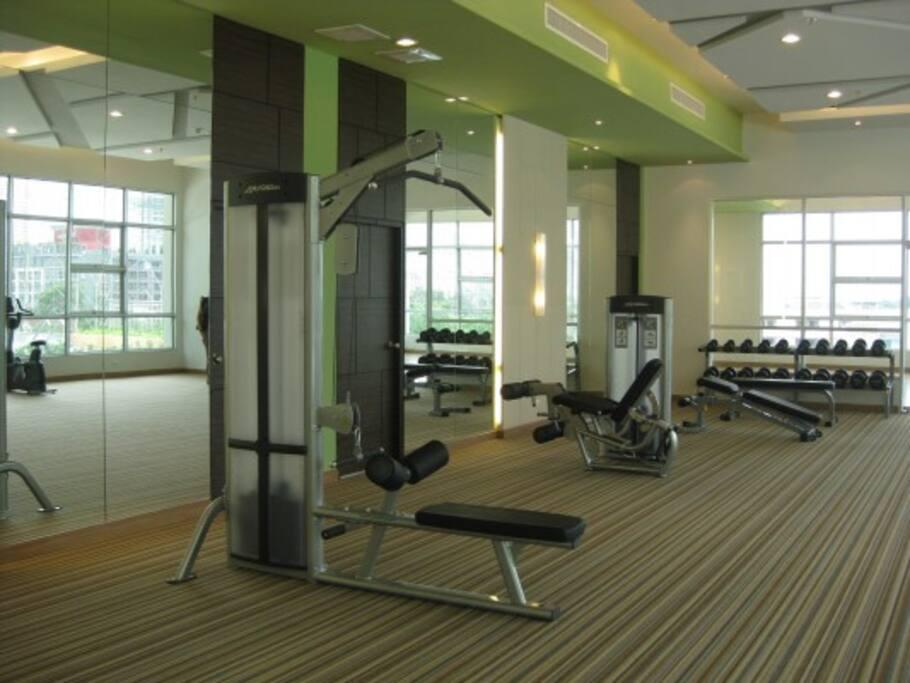 and gym