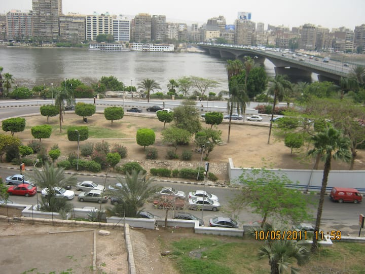 Cairo Giza Over looking the River Nile
