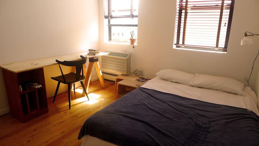 Sunny Greenpoint Room