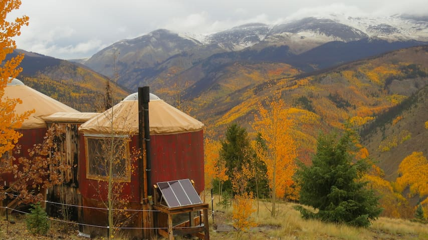 Stunning yurt near Creede, Colorado - Creede - Yurt