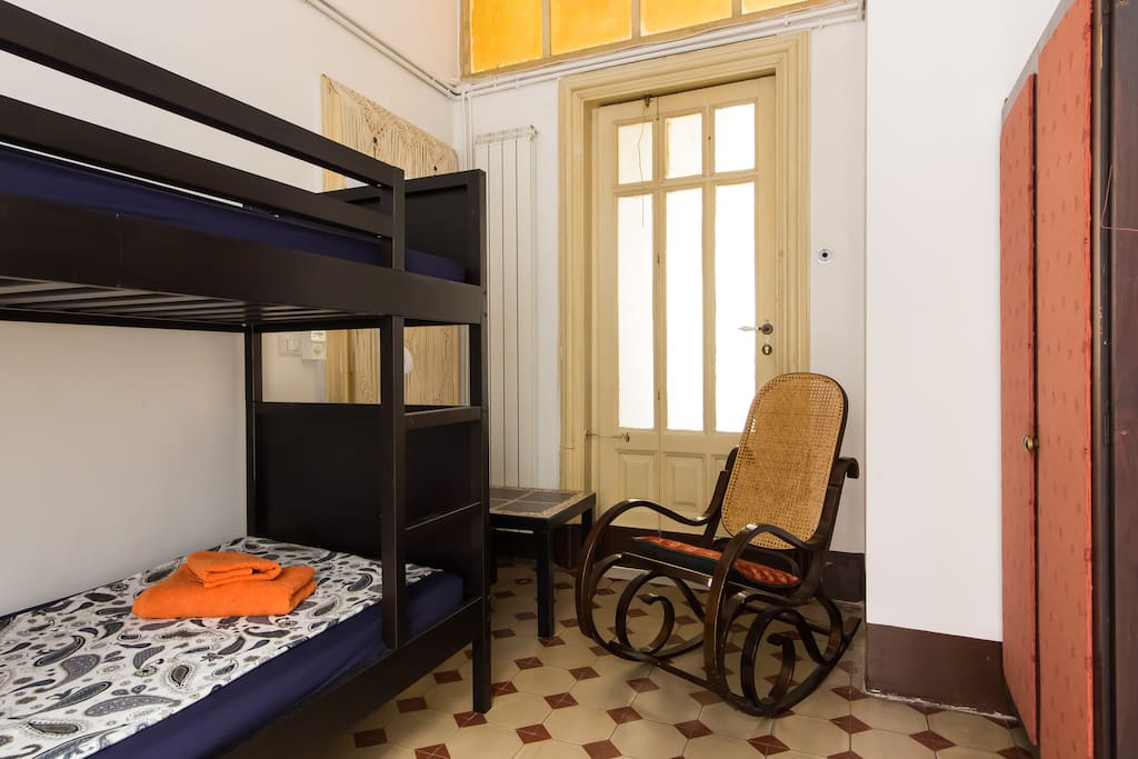 The Twin-room with very confortable bunk-beds