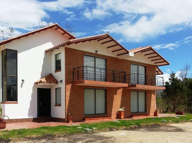 Casa Campestre Villa María - Villa de Leyva - Huis