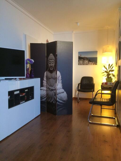 Flat hall/living room