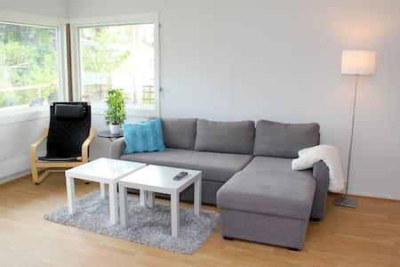 Central & spacious - veranda, garden, parking - Hamar