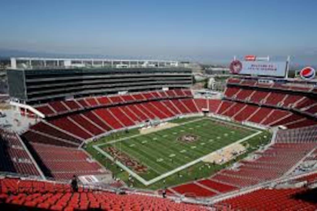 Levi's Stadium. Walking distance!