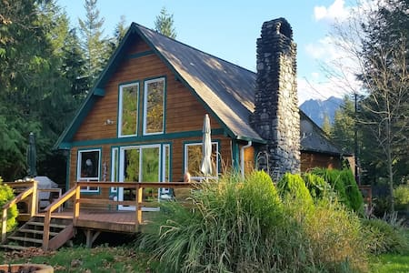 Cable Cabin Mountain Retreat - Gold Bar - Maison