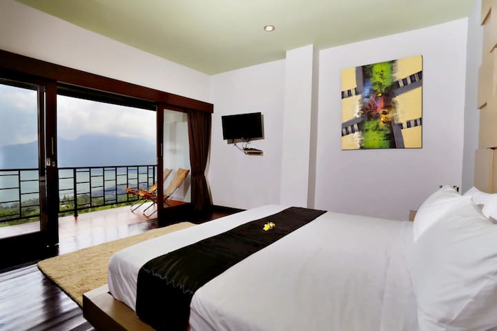The Cave Double Bed Room - Kintamani - Bed & Breakfast