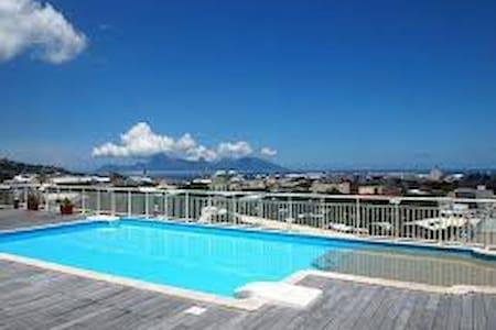 Une chambre dans penthouse - Papeete - Wohnung