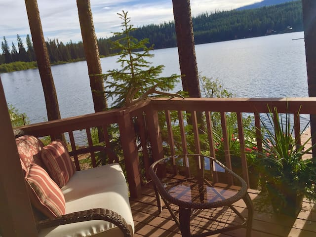 Comfortable cabin on Lake Inez - Seeley Lake - Cabin