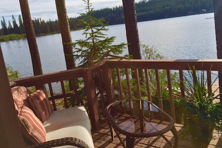 Comfortable cabin on Lake Inez - Seeley Lake