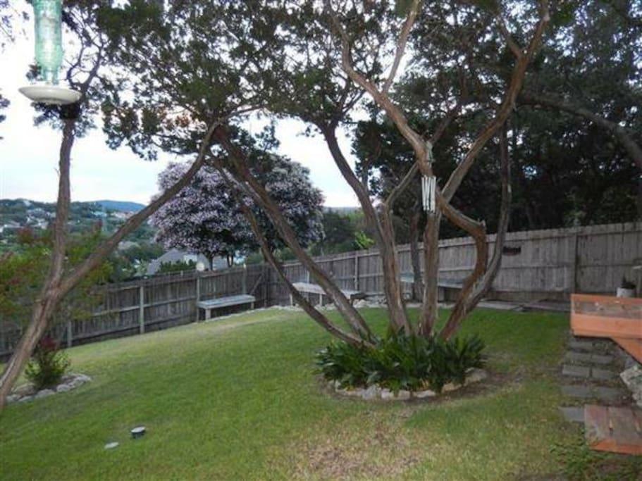 Big back Garden
