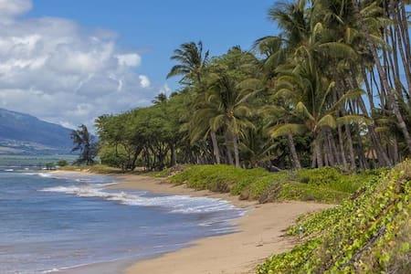 ''Right on the beach on Maui''.