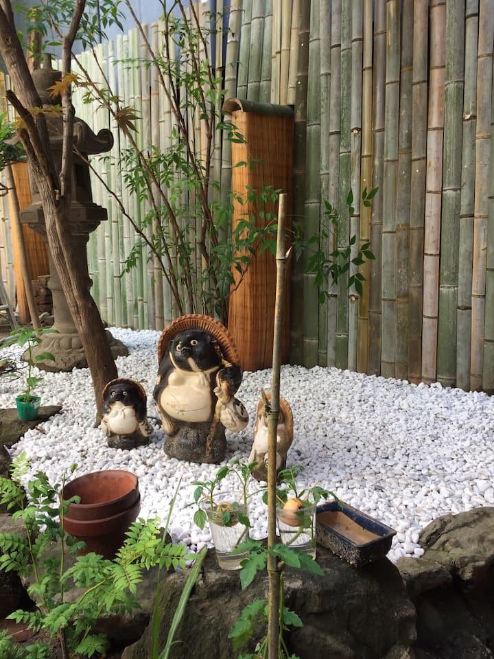 伝統的な日本家屋で