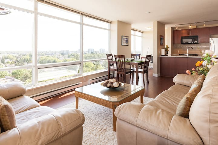 Spacious apartment with Stunning view