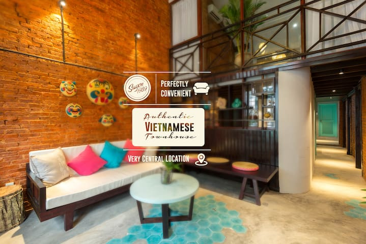 Charming Vietnamese Townhouse - Ho Chi Minh City - Flat