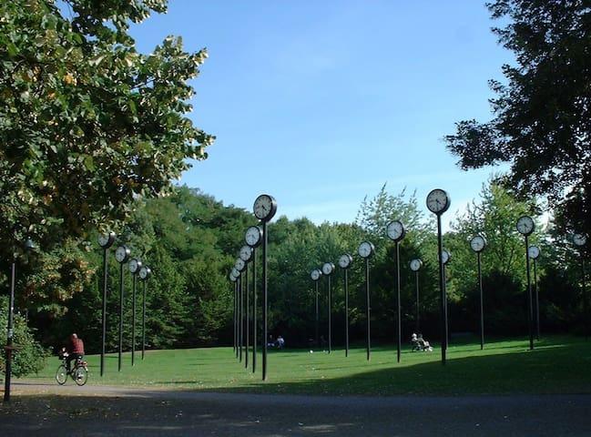 Дюссельдорф. Volksgarten. Красота! - Düsseldorf - Huoneisto