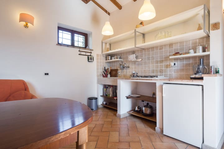 Lovely little lodge with views - Calvi - Cabaña