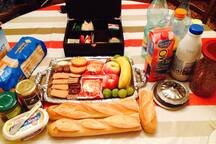 petit-déjeuner, breakfast, desayuno. Bon appétit !!