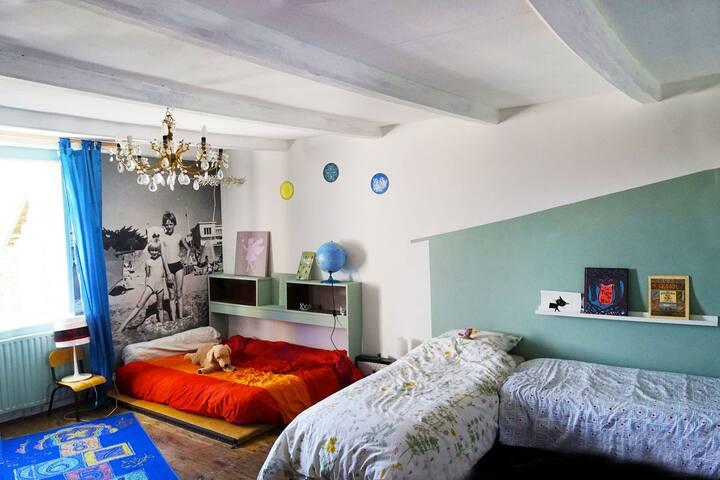Chambre familiale - Lanty-sur-Aube - Bed & Breakfast