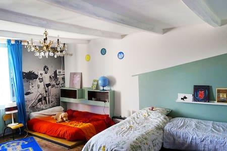 Chambre familiale - Lanty-sur-Aube