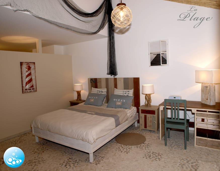 Chambre la plage chambres d 39 h tes louer oberfeulen for Chambre d hote luxembourg